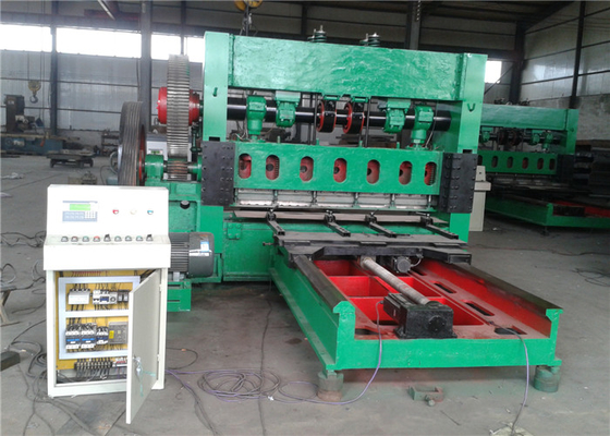 100T Punching Presure Steel Wire Mesh Machine , 50 HZ Crimped Wire Mesh Machine