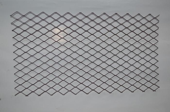 Brown Expanded Metal Floor Grating , 0.9mm Decorative Expanded Metal Panels
