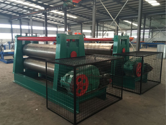 Two 500 Mm Rollers Sheet Metal Flattening Machine Production Line 220 / 380V