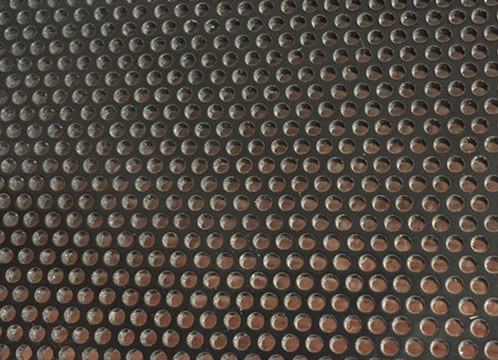 China Rond Hole Perforated Metal Sheet , 1.8mm Diameter Perforated Aluminum Screen supplier