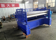 China Wire Mesh Sheet Straightening Machine For Leveling 90 Mm Roller Diameter factory