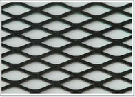 Flattened Aluminum Expanded Metal Mesh Sheet Raised With Diamond Holes