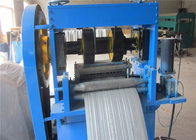 China Galvanized Steel Rib Lath Machine Stable Property With Decoiler 10mm Rib Deep factory