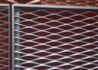 China Durable Steel Expanded Metal Mesh For Building Security 50 X 200MM Hole Size factory