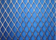 China Electric Galvanized Stretched Steel Mesh , Silver Plain Expanded Metal Sheet factory