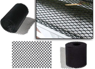 China Aluminum 2mm X 6mm Mesh Gutter Guards For Increasing Gutter Life Black Color factory