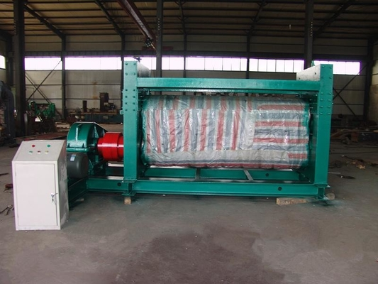 Two Rollers Metal Flattening Machine For Expanded Metal Mesh / Wire Mesh