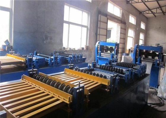 600mm Width Expanded Metal Sheet Making Machine High Production Efficiency