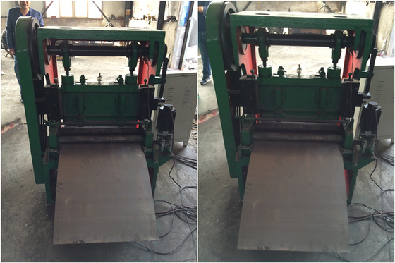 China High Speed Expanded Metal Machine JQ25 - 6 . 3 With Working Width 600mm factory