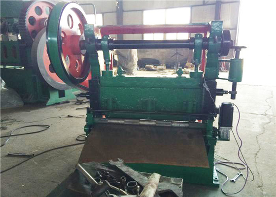 China JQ25 - 16 Automatic Expanded Metal Machine With Working Speed 150 Times / Min factory