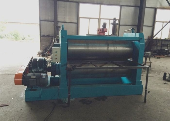 Two Roller Straightening Machine For Sheet Metal High Speed Working Width 1.5M