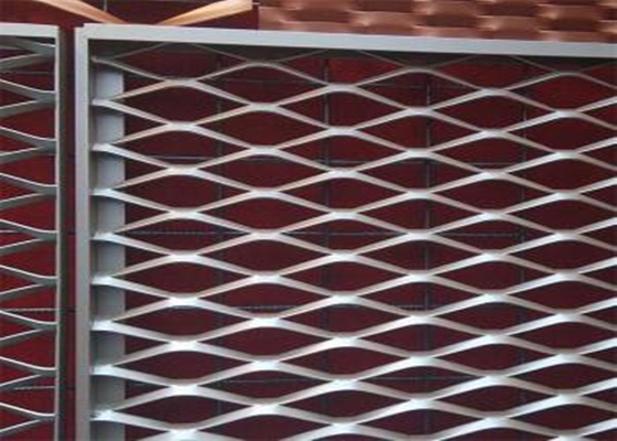 Durable Steel Expanded Metal Mesh For Building Security 50 X 200MM Hole Size