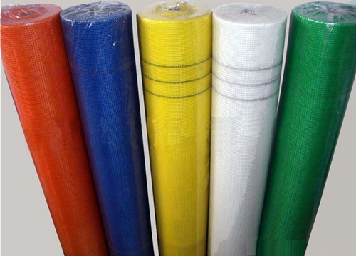 China 4 X 4 Mm Fiberglass Mesh Fabric , Thermal Insulation Wire Mesh For Concrete Slab factory