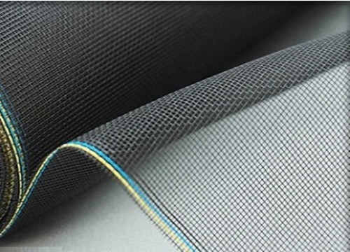 China Extruded Ventilate Fibreglass Fly Screen Mesh Fireproof Customized Design factory