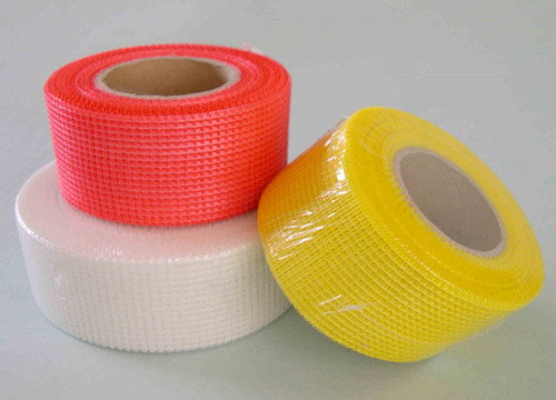 Self Adhesive Fiberglass Mesh Tape , Thin Wire Mesh For Joint Reinforcement