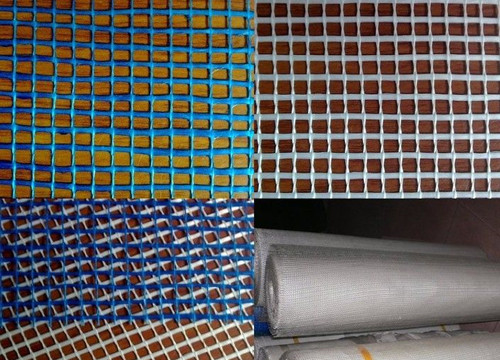 Waterproof Fiberglass Wire Mesh Reinforcing Mesh Building Materials Emulsion Coated