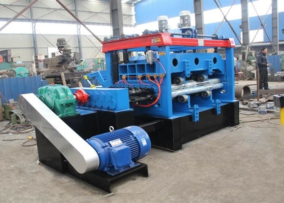 1600 Mm Width Electronic Expanded Metal Mesh Leveling Machine With 15 Rollers