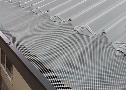 Mill Finish Expanded Metal Gutter Protection Systems For Preventing Leaves